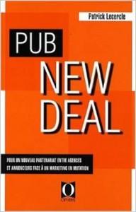 Couverture livre Pub New Deal Patrick Lecercle Conseil Acccompagnement Retail ID Inside