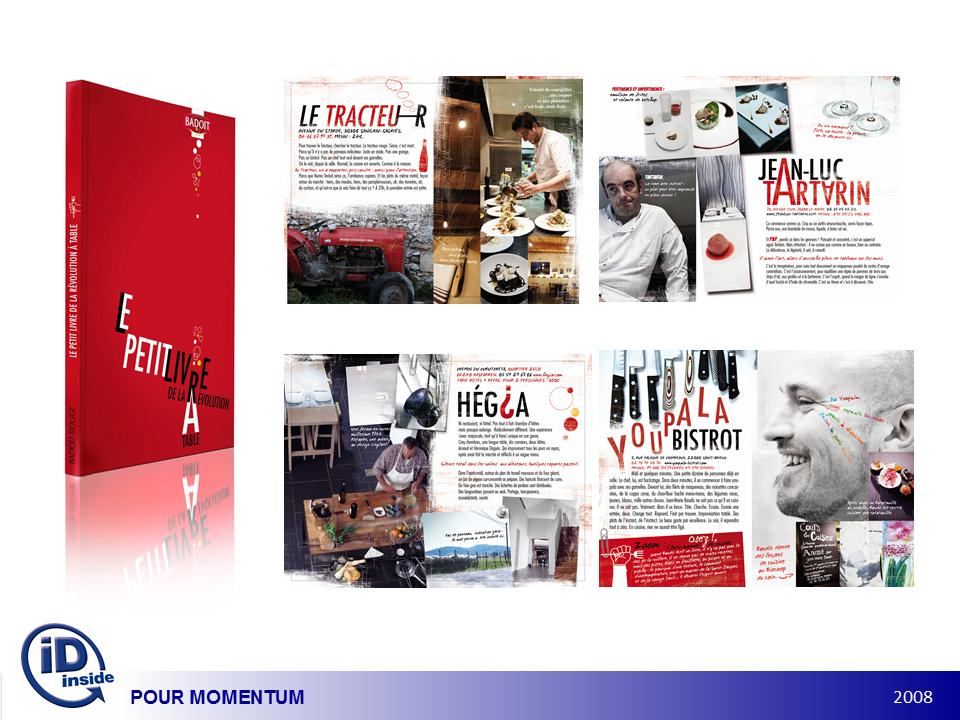 Campagne Badoit Rouge, La révolution à table