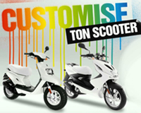 Campagne MBK Customise ton scooter, Patrick Lecercle, ID Inside