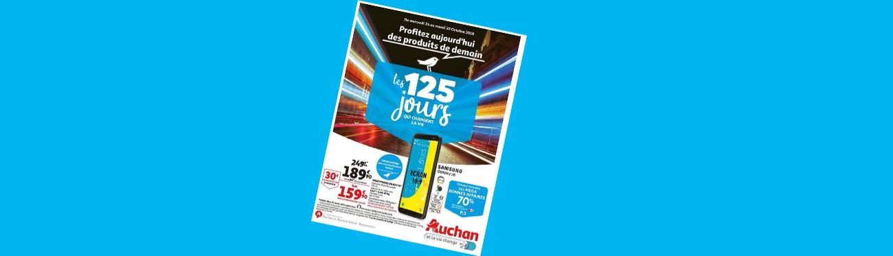 Illustration ID Inside cas client Auchan les 125 jours