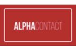 Logo Alpha Contact, un client de Patrick Lecercle chez ID Inside