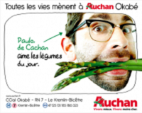Illustration cas client activation commerciale Auchan Okabé, Patrick Lecercle, ID Inside